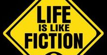 Life Is Like Fiction (live) / Our live Talk Show where my son Evan and I have conversations about life & some of the bat-crap crazy things we think, experience and see around us.