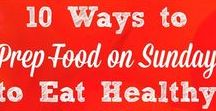 Healthy Eating / Healthy eating tips, ideas and inspiration - how to eat well, eat real food, and enjoy the benefits of a healthy diet.