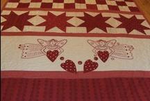 Valentine - Redwork quilts / by Bonita Thompson