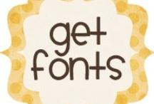 Fonts / by Bonita Thompson