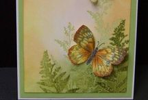 Cards Samples - Butterflies / by Bonita Thompson