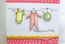 Card Samples - Babies / by Bonita Thompson