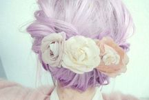 Pastel heaven / Haircolors and styles in lovely pasteltones