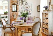 Farmhouse Dining Room / Farmhouse dining room inspiration for our future farmhouse dining room and library renovation