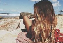 Boho Beauty / Natural, sunkissed and always free-spirited. Hair, makeup, nails...this is the Always Me Pinterest board for the natural bohemian beauty.