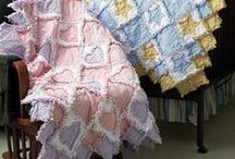 Rag Quilts and Burp Cloths / by Bonita Thompson