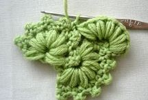 Crochet stitchES / Different kinds of  crochet stitches and techniques