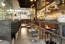Restaurants & cafes / Our favourite restaurant & cafe designs!
