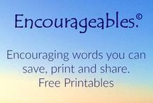 Free Ebooks and Printables / Free ebooks, posters, graphics and printables that share quotes, inspiration, encouragement, beauty and humor. Because we all need a lift every now and then!