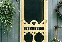 Vintage Screen Doors