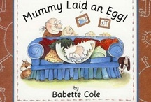 Books / Books and Illustrations by Babette Cole.  http://www.babette-cole.com/shop/