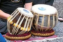 Asia : musical instruments