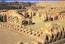 Pre-Inca civilization / Chavin- Paracas-Mochica-Nasca- Tiahuanaco -Chimù -Chancay- Wari