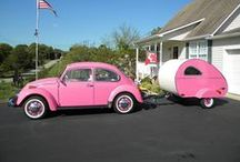 Amazing Teardrop Campers / The inspiration for the K-Pod - funky, cool, all you could want in super compact size!