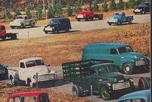 Automobile-Vintage Ads / by Dean Kolb