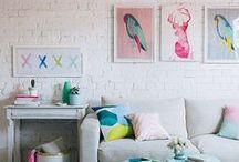 CREATIVE WORKSPACES / Dream office space, creative offices, creative spaces, dream office, office decor, minimalistic office decor, colorful decor