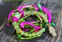 Takı (beads, stones) / Aksesuarlar özgürlüğümüzü en rahat yansıtabileceğimiz ürünlerdir...