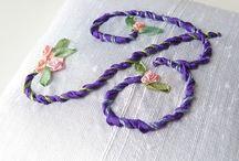Ribbon Embroidery / Emeğimizle elimizden çıkardığımız her ürün kendi benliğimizi ortaya koyduğumuz bir tasarımdır..Gamze Uzan
