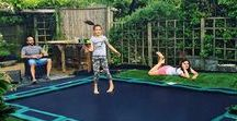 Capital Play In-ground Trampolines / We love the innovative Capital Play in-ground trampoline range and so do our customers!
