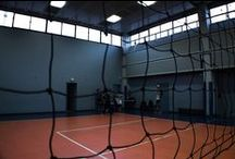 Palestra BVI Bologna / La palestra della parrocchia Beata Vergine Immacolata a Bologna dove si allenano varie squadre della YZ volley.
