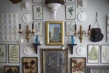 Gallery wall inspiration / by Lauren Driskill
