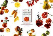Bunte Sortenvielfalt auf dem Teller / Entdeckt die wunderbar farbenfrohe Vielfalt unserer Bücher, 1001 Obst- und Gemüsesorten und was man alles mit ihnen zubereiten kann! Von Sortenportraits bis hin zu außergewöhnlichen Rezepten!