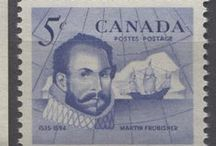Famous Canadian Men on Stamps / Famous Canadian men as depicted on Canada's stamps.