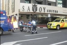 Fire Dril at Savoy Dubai Hotels / Savoy Hotels in Dubai conducted a fire drill on March 2013
