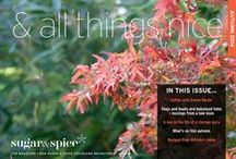 & all things nice / Magazine produced by our agency, published on a quarterly basis