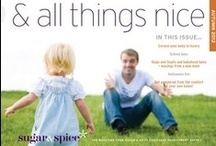& all things nice Autumn 2012 / Autumn 2012 magazine from Sugar & Spice Childcare agency