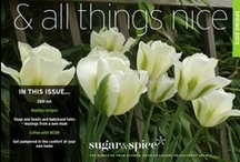 & all things nice Spring 2013 / Spring 2013 magazine from Sugar & Spice Childcare agency