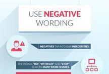 Contenu/blogs - Infographies du web / Les infographies du web qui traitent de l'optimisation des contenus et des blogs.