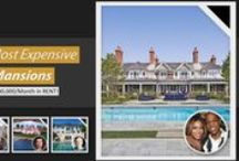 Celebrity Homes / If you are interested in seeing how celebrities live and tour their gorgeous properties all over the world, then follow this board. Some of these star properties are even on sale.
