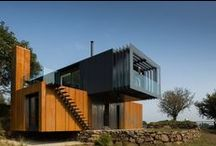 Shipping Container Homes / Cool homes and offices made from shipping containers. Have a look at these creative and unusual modern homes