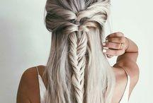 Des cheveux