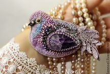 Gioielli tessili 2-Textile jewelry 2