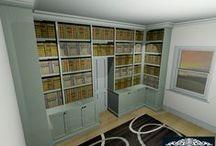 Furniture Visuals / Rendered Imaged of Furniture Designs