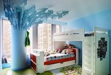 Kids Rooms and Baby Nurseries / Beautifully designed kids rooms and cute baby nurseries - lots of creative ideas for your children´s rooms.