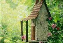 Casas de Pássaros e de Jardins