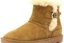 Womens Winter Boots  / Guaranteed low prices for Minnetonka Sheepskin Boots for Women: Our fine sheepskin breathes, keeping your feet comfortable indoors and out. The soft, natural wool helps wick moisture away from your skin; and the lightweight rubber sole provides traction and durability.  We have many styles of Minnetonka sheepskin boots for men and women including classic short and tall pug boots. We guarantee that our prices are the absolute lowest you will find anywhere on the internet.  / by MoccasinsDirect.com