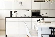 Scandinavian - Kitchen / mostly scandinavian, bright, white, eclectic interiors:)