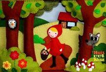 ♥ Roodkapje ♥ / Huisvolkleur