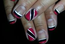 Nail art done by me!