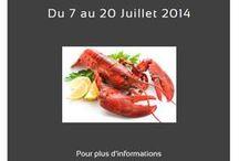 Quinzaine Gourmande du homard des Restopartner 2014 / Découvrez les recettes élaborées par nos chefs pour la Quinzaine Gourmande du Homard des Restopartner 2014 et téléchargez les recettes !