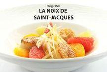 Quinzaine Gourmande de la Saint-Jacques / Découvrez ici les photos des plats proposés par nos restaurants RestoPARTNER'S pour cette Quinzaine Gourmande de la Noix de saint-Jacques qui vous est proposée du 10 au 23 novembre 2014