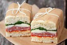 Pause déj' / #déjeuner #pause #break #lunchbox #cassecroute #sandwich #bento #paindemie #déj #pasletemps #hurry #surlepouce #aemporter #jaifaim