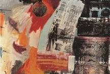 Collage, mixed media and undefineable