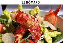 Quinzaine Gourmande du Homard  2015 ! / Découvrez les recettes élaborées par nos chefs pour la Quinzaine Gourmande du Homard des Restopartner 2015 et téléchargez les recettes !