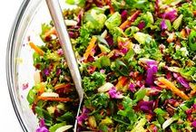 Salads / Salads for adults, serve without lettuce for the kiddos!