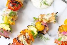 Grilled Dishes / Main meals and sides made using the grill! Let it be summer forever!
